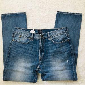NWT J.Crew Sutton Straight Leg Jeans